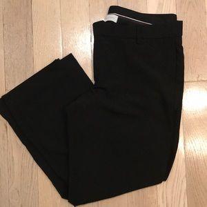 GAP | Black Perfect Trouser Work Pant 10A Stretch